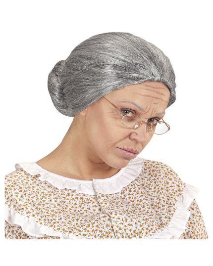 Parrucca Grigia da Nonnina