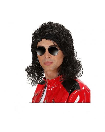 Parrucca Re del Pop Michael Jackson