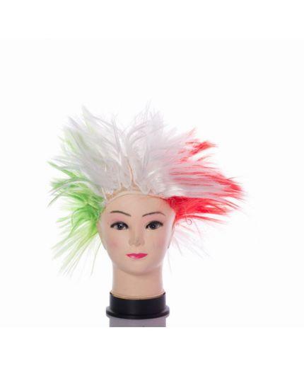 Parrucca Liscia Tricolore
