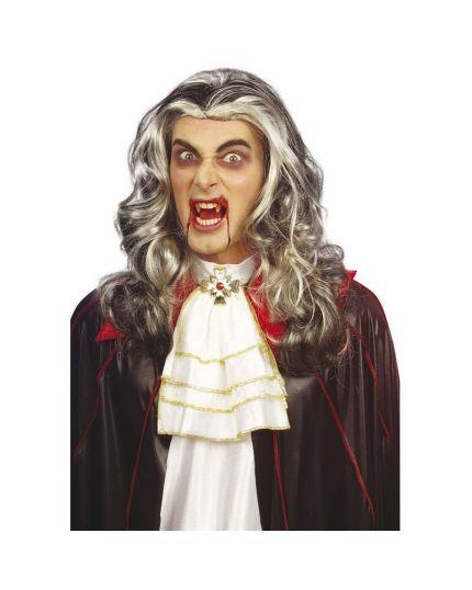Parrucca Vampiro Aristocratico Lunga