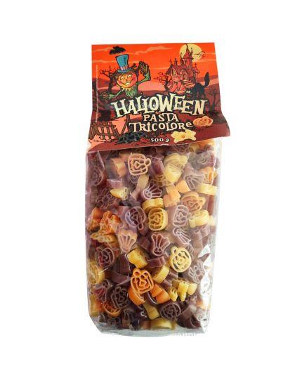 Pasta di Semola di Grano Duro Soggetti di Halloween Tricolore 500gr