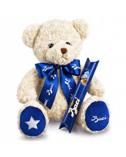 Peluche Teddy Bear con Tubo Baci Perugina Grande
