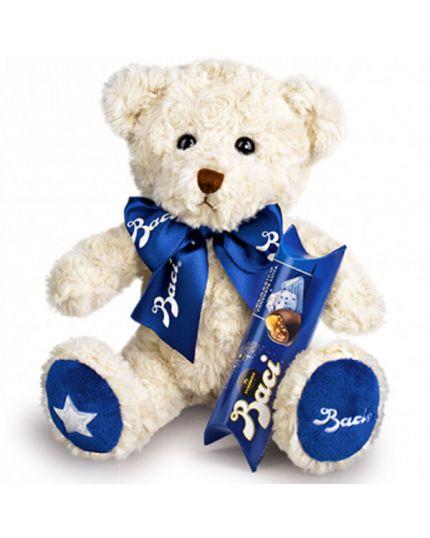 Peluche Teddy Bear con Tubo Baci Perugina Piccolo