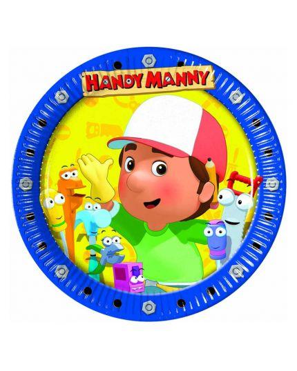 Piatti Carta Handy Manny