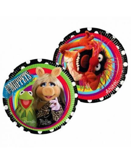 Piatti Carta Muppets