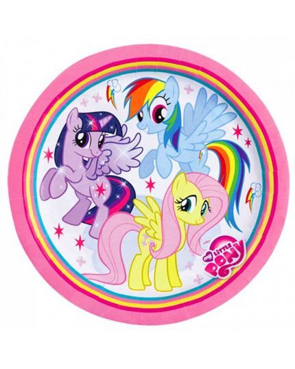 Piatti Carta My Little Pony