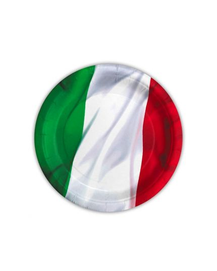Piattini Dessert Tricolore Italia