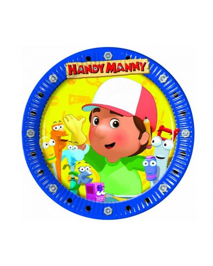 Piattini Dessert Carta Handy Manny