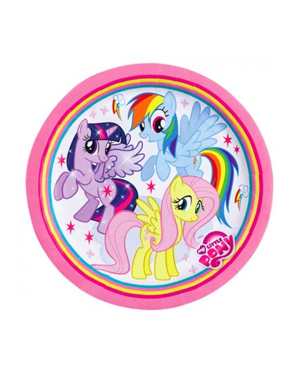 Piattini Dessert Carta My Little Pony