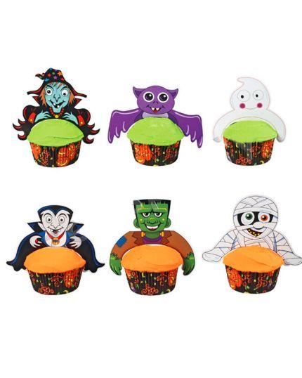 Pick per Muffin Pvc Soggetti Halloween
