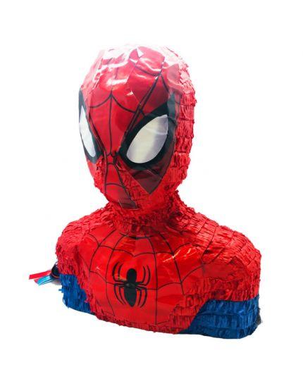 Pignatta Pentolaccia Carta Busto Spiderman 45cm