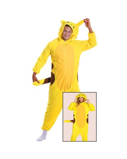 Costume Pigiama Cincillà Pikachu Pokemon