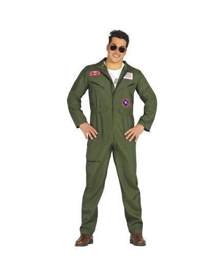 Costume Tuta Pilota di Caccia Uomo
