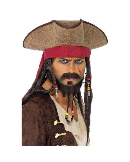 Cappello Pirata con Treccine
