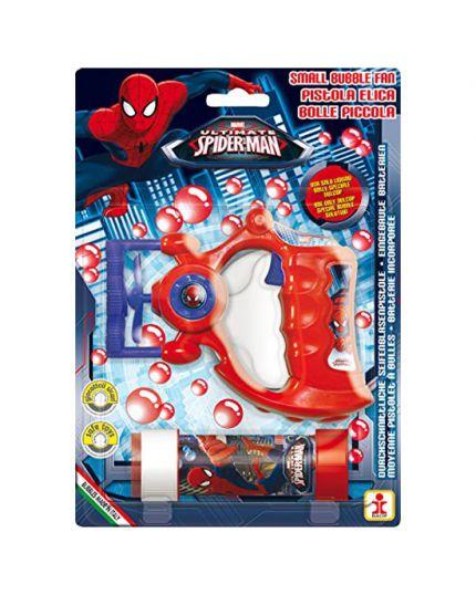 Kit Bolle di Sapone Spiderman con Pistolina Elica