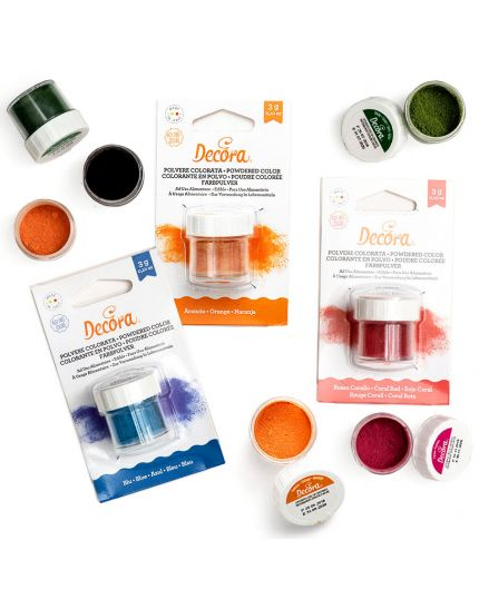 Polvere Colorata per Alimenti Decora 3gr
