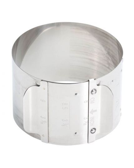 Porzionatore Anello Regolabile Graziano Diametro 7-9cm H 5,5cm
