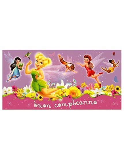 Poster Pvc Fairies Disney Trilli Buon Compleanno