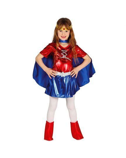 Costume Supereroina Bambina