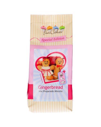 Preparto per Gingerbreads Pan di Zenzero FunCakes Originale Ricetta Americana 500gr