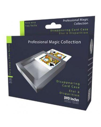 Trucco Magia Custodia per Carte a Scomparsa Professional Magic Collection con DVD