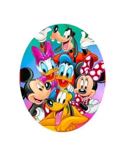 Uovo Pasqua Artigianale Personalizzabile Varie Dimensioni Disney