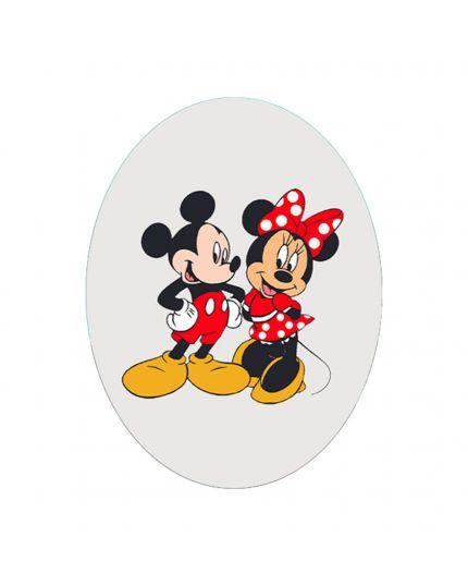 Uovo Pasqua Artigianale Personalizzabile Varie Dimensioni Minnie e Mickey Mouse