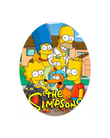 Uovo Pasqua Artigianale Personalizzabile Varie Dimensioni I Simpson