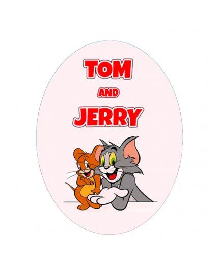 Uovo Pasqua Artigianale Personalizzabile Varie Dimensioni Tom and Jerry