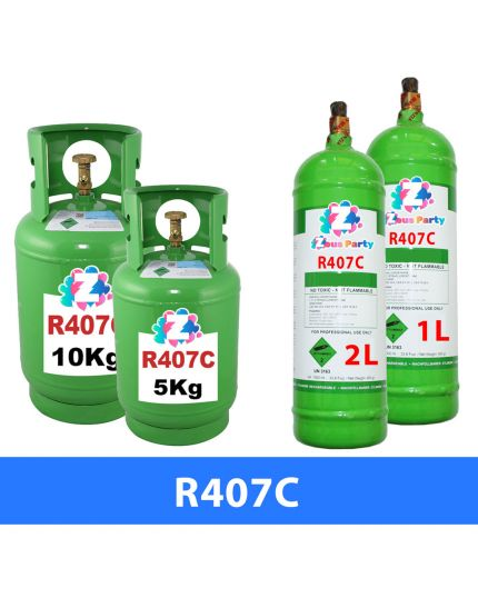 Bombola Gas Refrigerante R407C Varie Dimensioni