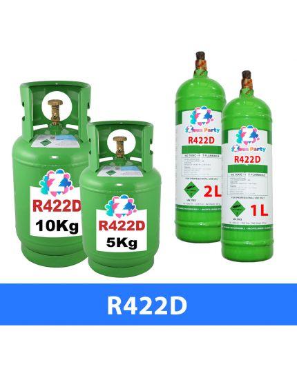 Bombola Gas Refrigerante R422D Varie Dimensioni