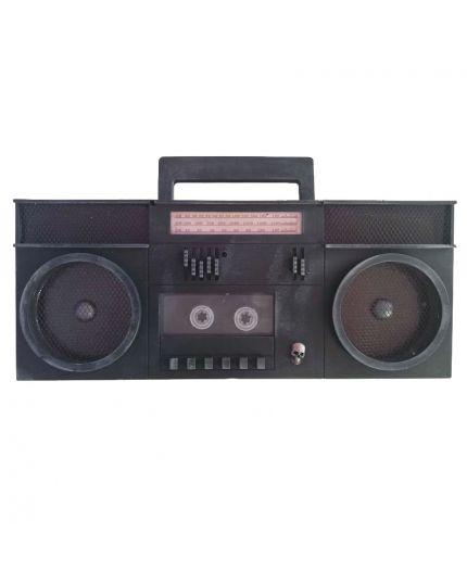 Decorazione Stereo Horror con Cassette con Luci e Suoni