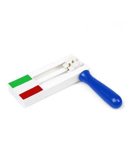 Raganella Pvc Italia Grande