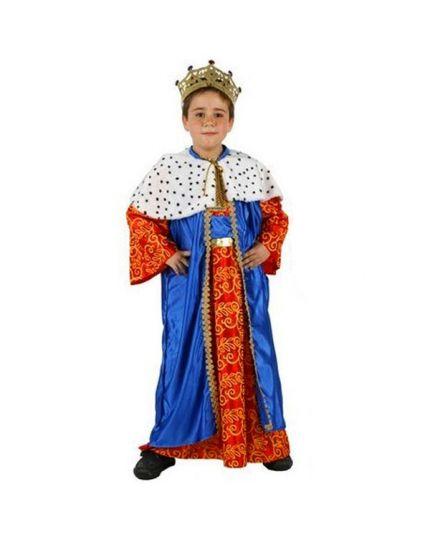 Costume Re Magio Blu Bambino
