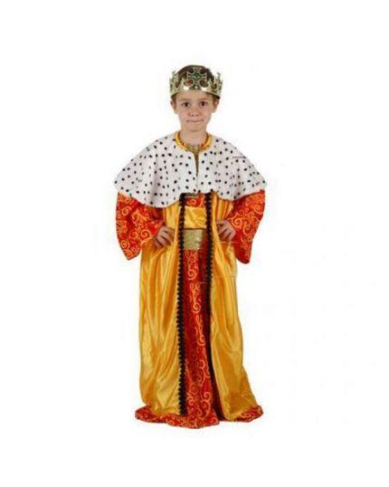 Costume Re Magio Giallo Bambino