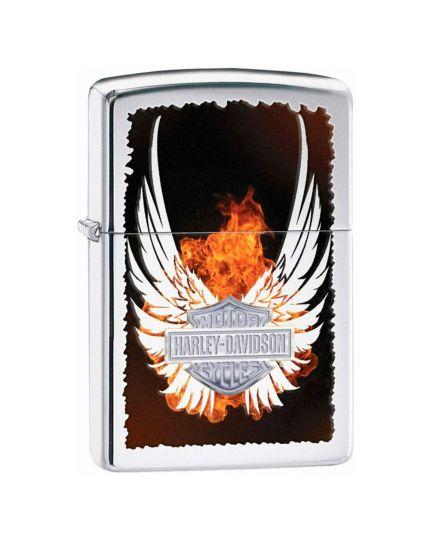 Accendino Zippo - Harley-Davidson Flame Wings