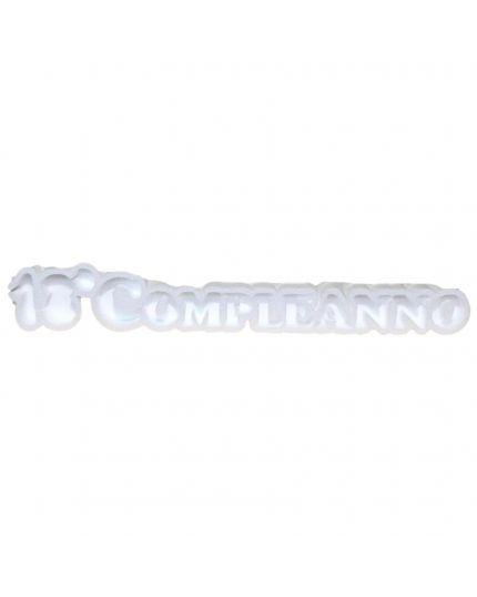 Struttura Porta Confetti in Polistirolo Scritta 18°Compleanno