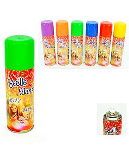 Bomboletta Stelle Filanti Spray Colorate