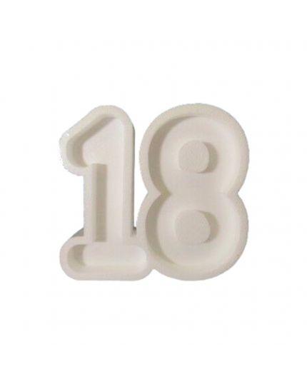 Struttura Porta Confetti in Polistirolo Scritta 18