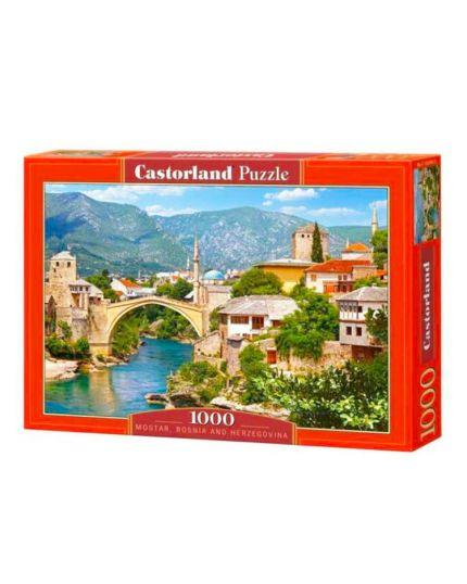 Puzzle Mostar, Bosnia e Erzegovina 1000 Pezzi 68x47 Cm