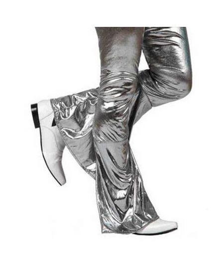 Pantalone Disco Argento tg. M-L