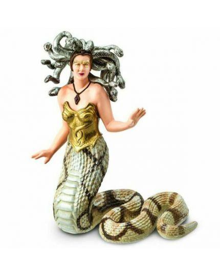 Safari Medusa Creatura Mitologica 10x8cm