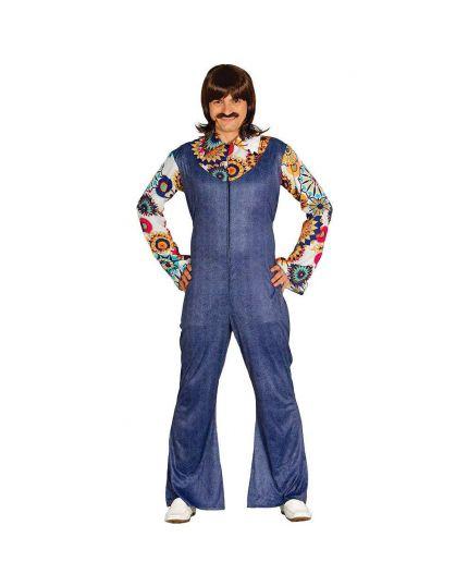 Costume Salopette Anni 70 Uomo