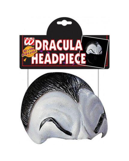 Maschera Calotta Dracula Sopracciglia e Capelli in Lattice
