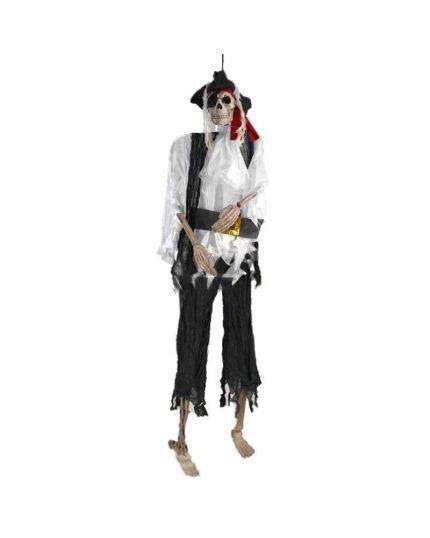 Scheletro Pirata 153cm