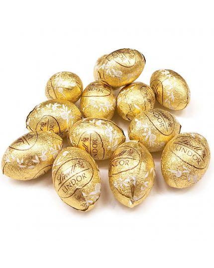 Ovetti Lindor al Cioccolato Bianco 500Gr