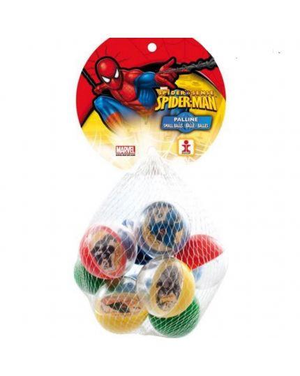 Palline Plastica Spiderman 9pz
