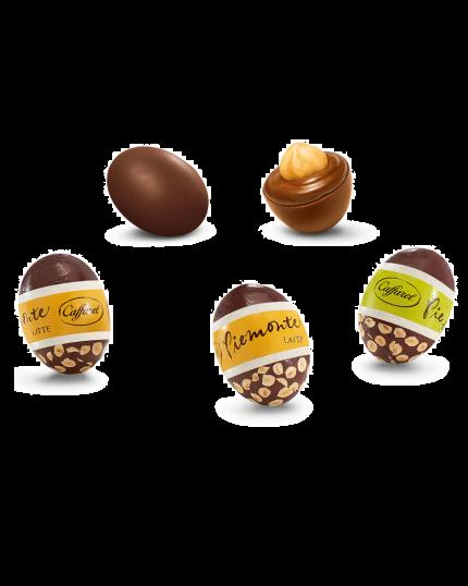 Ovetti Caffarel Piemonte Cioccolato al Latte o Fondente 1Kg