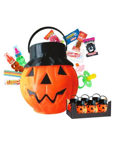 Secchiello Zucca di Halloween Dolcetto o Scherzetto con Caramelle Casa del Dolce 280gr