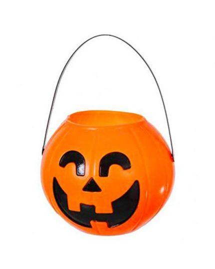 Secchiello per Dolci Zucca Halloween 17cm